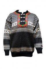 41884201 Tradisjonell genser i 100% ull, håndvaskes.