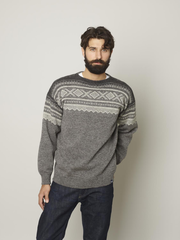 marius genser grå mann | hjemmestrikk
